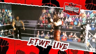 ETWF Live Episode 2 //Braun Strowman Vs Local Competitor   // (WWE STOPMOTION)