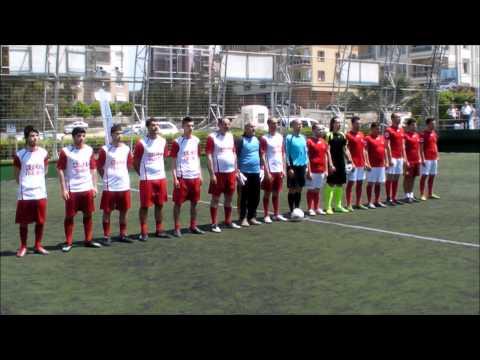 OTOCUP İZMİR 2012 Futbol Tur  3 lük Müsabakası öncesi Seramoni ve İSTİKLAL MARŞI  AKZONOBEL   ÇELİKALDİZEl 06 05 2012 Organizasyon FULLSPORTS ~1