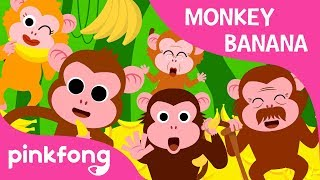 Monkey Bananas | Animal Songs | PINKFONG Songs for Children