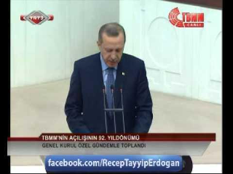 Başbakanımızın, TBMM Genel Kurulu 'Özel Gündem' Konuşması