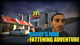 FATTENING ADVENTURE - McDonald's Map (Garry's Mod)