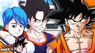 Goku Reacts To Dragon Ball Ladi Dadi Da (DBZ Parody)