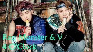 Nightcore - 네시 (4 O'Clock) By Rap Monster & V (BTS)