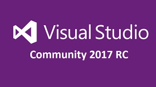 Download and Install Visual Studio 2017 RC  (Community Edition) width=