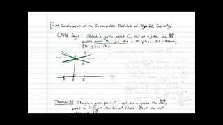 Parallel and nonintersecting lines in hyperbolic geometry
