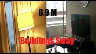 Quake Swarm | Coastal Chile | *Buildings Sway*! - Buoys Bounce