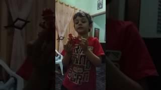 João Vitor falando dos Pokémon