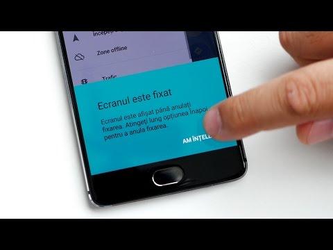 Blocare telefon într-o singura aplicație în Android