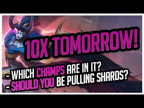 10x Event TOMORROW! | Serris / Vizier / Rae! | Should you pull? RAID Shadow Legends