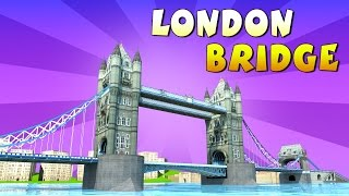 London Bridge is Falling Down || 3D Animation Nursery Rhymes Songs || KidsOne