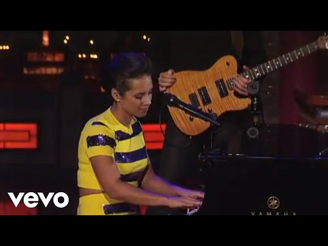 Video de Alicia Keys cantando en directo - If I Ain't Got You (Live on Letterman)