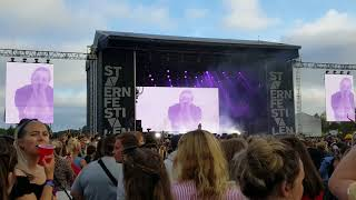 Post Malone - Over Now🎤🎶 (Live at Stavernfestivalen with 20k in the crowd in Norway🇳🇴)