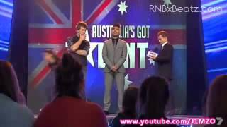 Genesis makes it through to the GRAND FINAL | Australia's Got Talent 2012 - Beatboxer width=