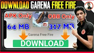 free fire only obb file download