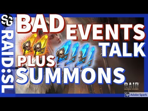 [RAID SHADOW LEGENDS] BAD EVENTS + SUMMONS