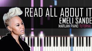 How To Play: Emeli Sandé - Read All About It | Piano Tutorial