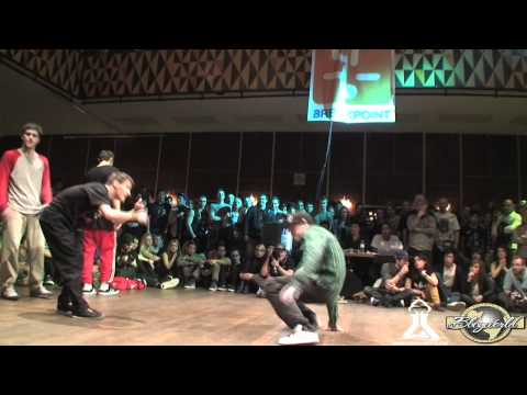 SOUTH FRONT vs SINIOR FAMILY | FLOOR WARS 2012