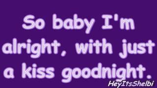 Lady Antebellum Just a Kiss (With Lyrics)
