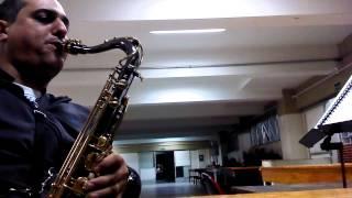 sax tenor hino 577 Harpa Cristã Em fervente Oração