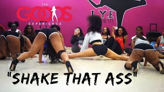 "Zed Zilla Ft. Jucee Froot ""Shake That Ass"" Part 1 & 2 Choreography By Trinica Goods"