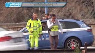 TG LA SESTA INCIDENTE MORTALE IN TANGENZIALE 30 01 2017