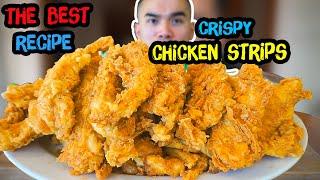 How to make Crispy CHICKEN STRIPS / TENDERS / FINGERS