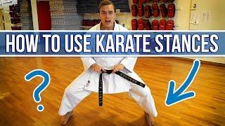 How To Use Karate Stances (Jesse Enkamp)