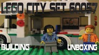 LEGO City Set 60057 - Unboxing & Building (Stop-Motion)