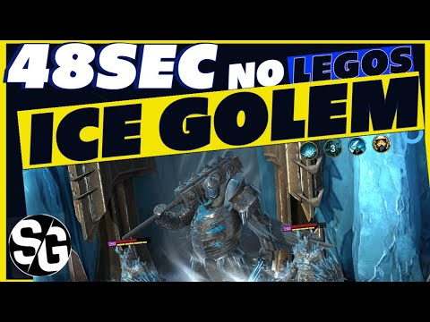 RAID SHADOW LEGENDS | 48sec ICE GOLEM NO LEGOS | SUPER SAFE | ICE GOLEM SPEED RUN