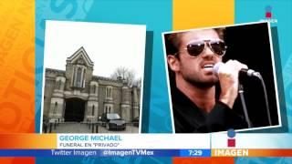 Por fin tiene funeral George Michael