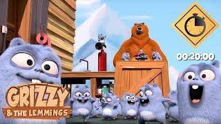 20 minutes de Grizzy & les Lemmings // Compilation #02 - Grizzy & les Lemmings width=