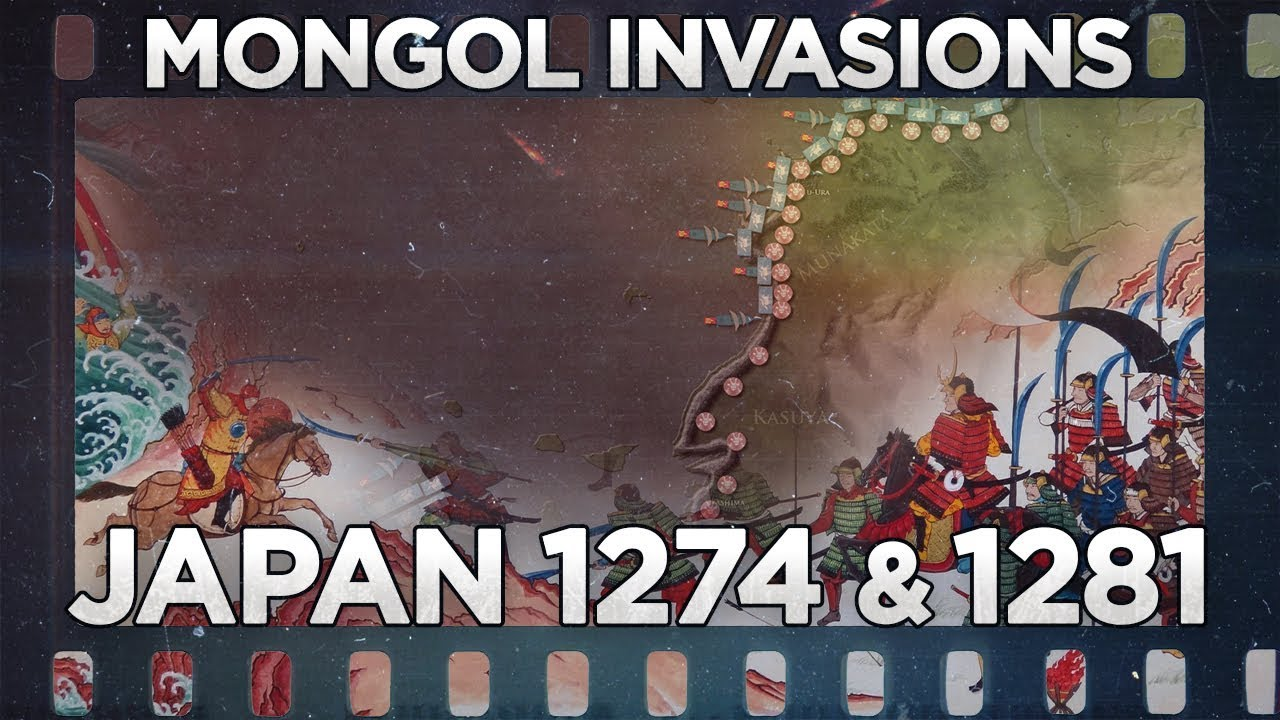 Mongols : Invasions of Japan 1274 and 1281 - Documentary