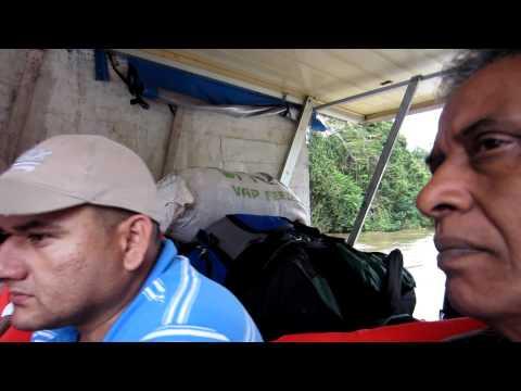 Border Crossing by Boat – Los Chiles Costa Rica to San Carlos, Nicaragua  ( Central America )
