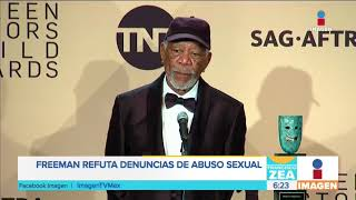 ¡Morgan Freeman refuta denuncias en su contra por abuso sexual! Noticias con Paco Zea