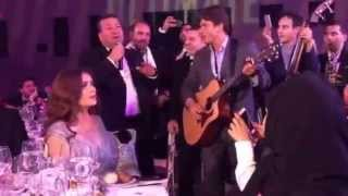 Salma Hayek sings Hotel California in Beirut