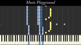129 {IMPOSSIBLE} Maroon 5 - Animals - Piano - Full (Synthesia)