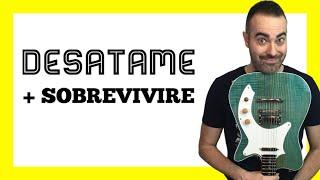 Desátame + Sobreviviré (Mónica Naranjo) cover guitarra