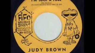 Judy Brown - I'm Such A Fool 1961 45rpm