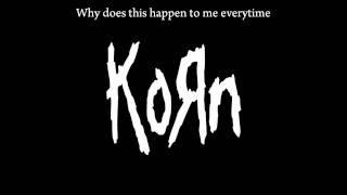 KoRn - Deep Inside Lyrics