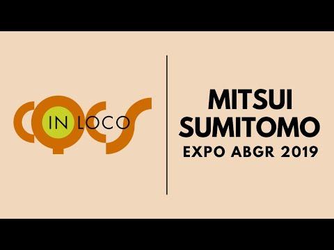 Imagem post: Mitsui Sumitomo na EXPO ABGR 2019