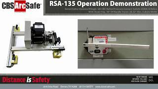 CBS ArcSafe® RSA-135 Operation Demonstration