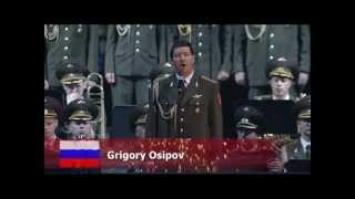 God Bless America sung by the Russian Red Army Choir, FIMMQ 2011