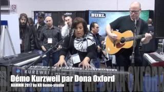 (NAMM 2017) - Démo Kurzweil PC3 K8 par Doña Oxford