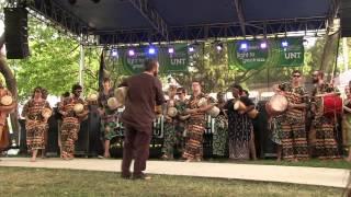 Dagbamba Music - North Texas African Drum Ensemble - Arts & Jazz Festival 2014
