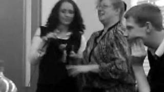 Teacher singing