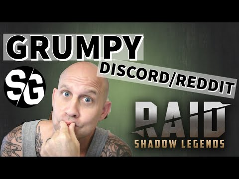 [RAID SHADOW LEGENDS] SERVER DOWN & A GRUMPY DISCORD/REDDIT