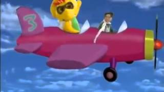 Barney   Hey look at me I can fly