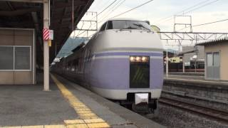 【JR東】篠ノ井線 特急スーパーあずさ1号 松本行 塩尻 Japan Nagano JR Shinonoi Line Trains