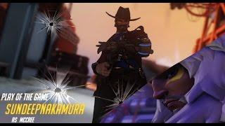Overwatch Mini Montage - Hanzo Plays (Ft. Wregiment)