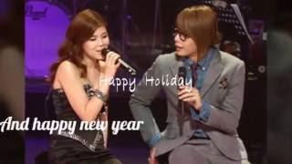 Lyn  - We Wish You A Merry  Christmas (feat)박효신 Park Hyo Shin